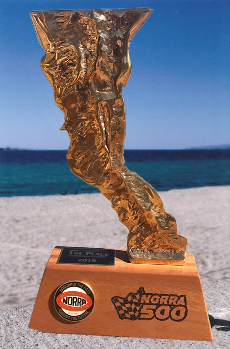 2019 NORRA 500 Additional Trophy